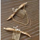 Wedding Flower Hair Fork