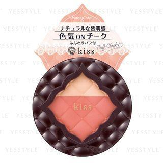 Kiss - Puff Cheeks (#02 Madly Coral) 1 Pc