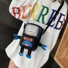 Robot Crossbody Bag As Figure - One Size
