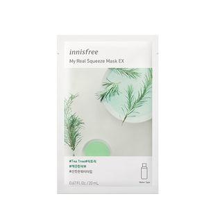 Innisfree - My Real Squeeze Mask Ex - 14 Types Tea Tree