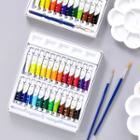 Watercolor Paint Set / Brush / Palette Dish