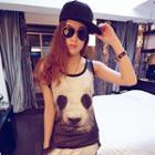 Panda Print Tank Top