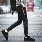 Buttoned Jogger Pants