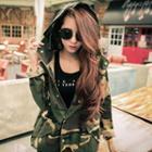 Camouflage Hooded Jacket