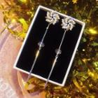 Bar Drop Earring Silver - One Size