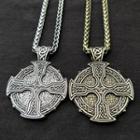 Alloy Cross Pendant Necklace