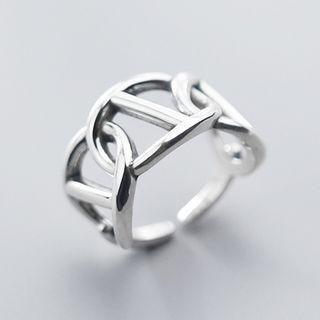 Cutout Ring S925 - One Size
