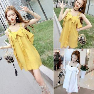 Ruffled Jumper Dress