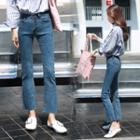 Cropped Boot-cut Jeans / Boot-cut Jeans