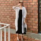 Long Shirt / Strappy Midi Dress