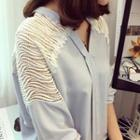 Perforated Panel Batwing Top