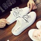 Lettering Mule Sneakers