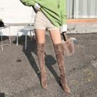 Slim-fit Corduroy Shorts