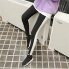 Two-tone Leggings Pants