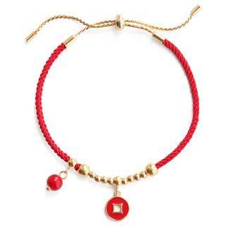 Lunar New Year Alloy Red String Bracelet (various Designs)