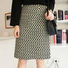 Patterned H-line Skirt