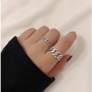 Copper Chain Open Ring