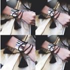Tassel Faux-suede Bracelet