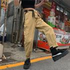 Crop Harem Pants Khaki - One Size