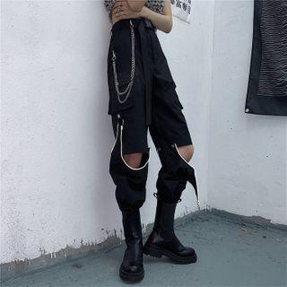 Zipper Detachable Pants / Pant Chain / Belt