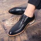 Stitched Contrast-trim Oxfords