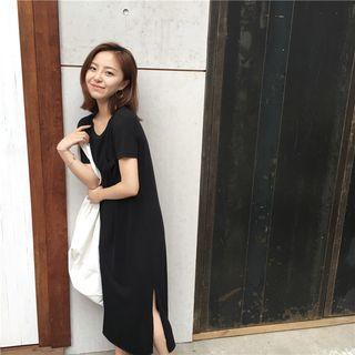 Short-sleeve T-shirt Midi Dress