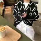 Check Sweater / Cardigan