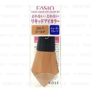 Kose - Fasio Liquid Eye Color Waterproof (#gd7) 1 Pc