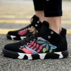 Print High-top Sneakers