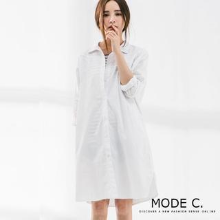 Oversize White Shirt White - One Size