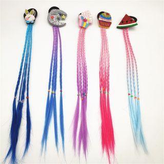 Cartoon Color Braided Hair Extension