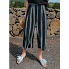 Wide-leg Pattern Pants