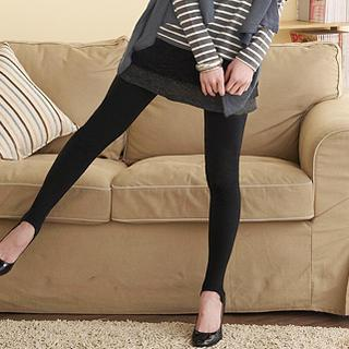 Inset Miniskirt Leggings