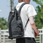 Drawcord Sports Backpack Black - One Size