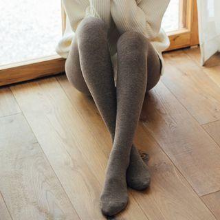 Knit Fleece Tights