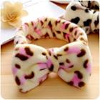 Bow-accent Printed Hair Band