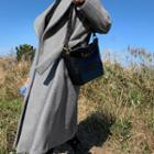 Hooded Woolen Wrap Coat