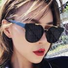 Double Bridge Cat Eye Sunglasses