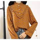 Placket Dotted Shirt