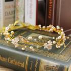 Rhinestone Flower Headpiece