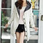 Heart Hooded Chunky Cardigan