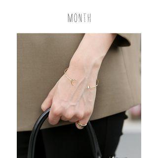 Metallic Moon Bracelet