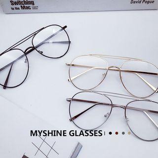 Double Nose-bridge Glasses
