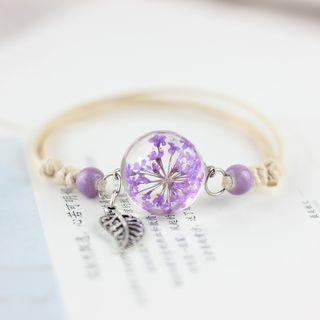 Flower Crystal Bracelet