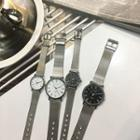 Couple Matching Steel Strap Watch
