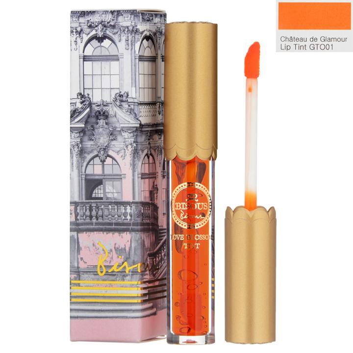Bisous Bisous - Chateau De Glamour Lip Tint (#gto01 Light Orange) 2.5g