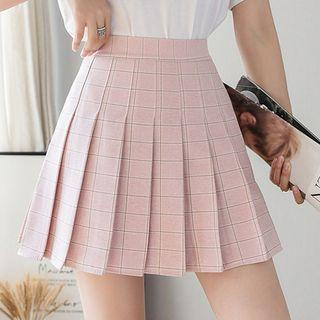 Pleated A-line Skirt (various Designs)