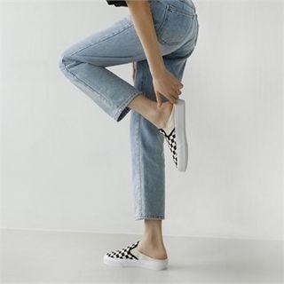 Banded Slide Loafers