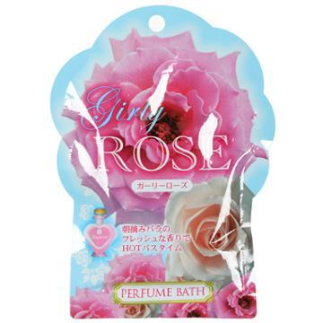 Kokubo - Rose Oil Bath Salts Series - Girly Rose (sea Salt & Germanium) 50g