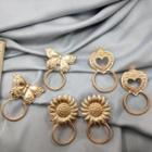 Alloy Butterfly / Sunflower / Heart Earring